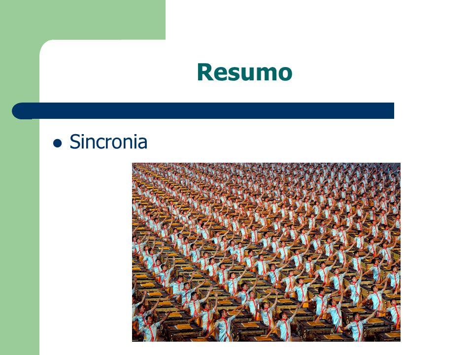 Resumo Sincronia