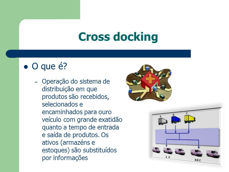 Cross docking O que é.
