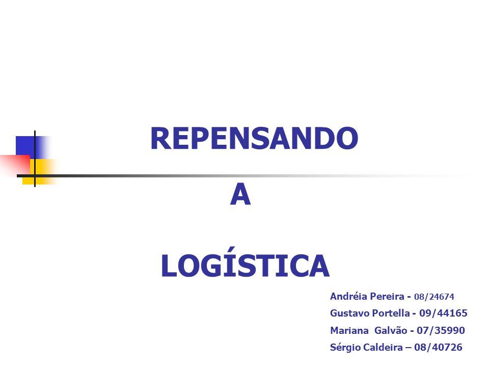 PARA ALCANÇAR VANTAGENS ESTRATÉGICAS Integração da cadeia logística