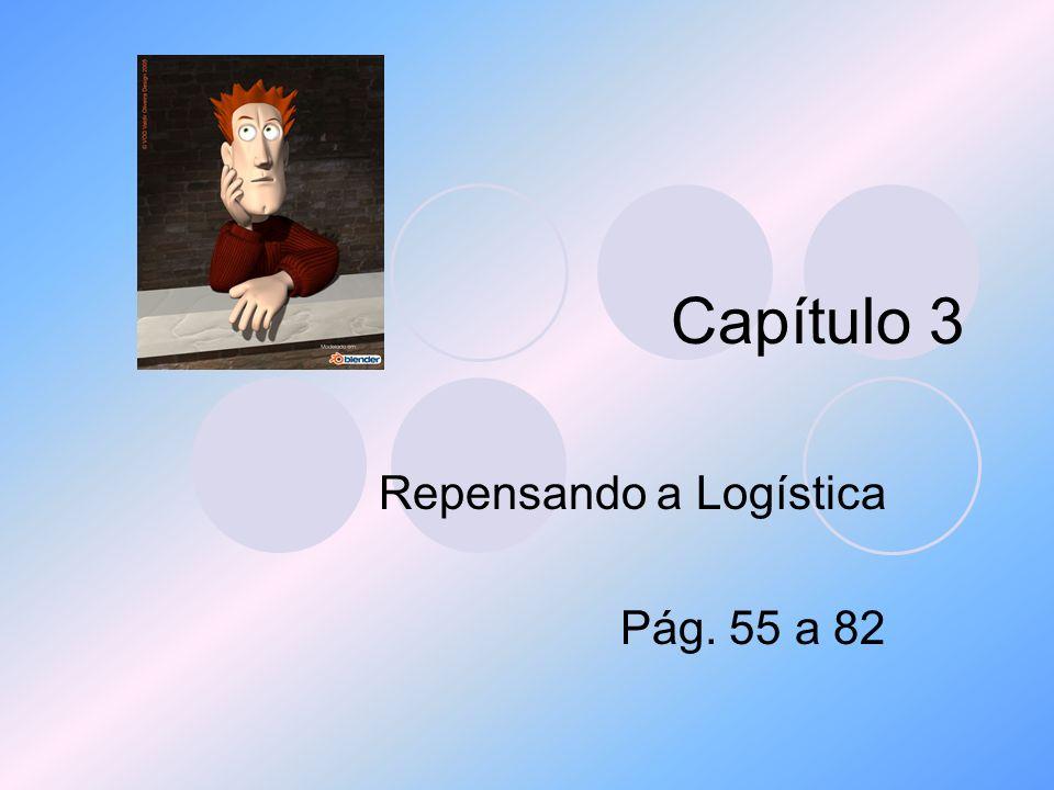 Capítulo 3 Repensando a Logística Pág. 55 a 82