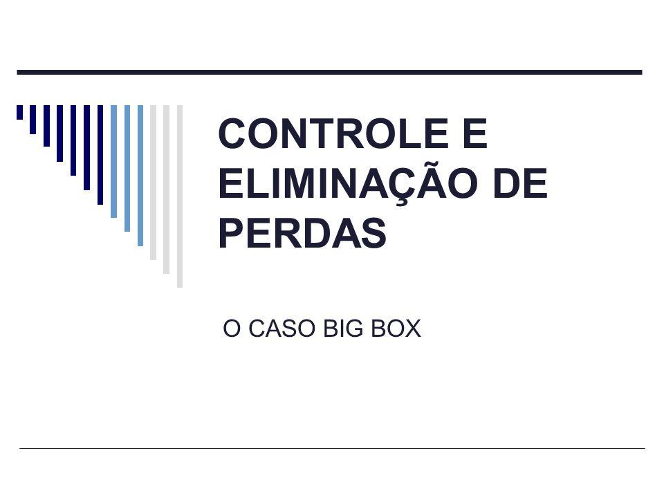 CONTROLE E ELIMINAÇÃO DE PERDAS O CASO BIG BOX