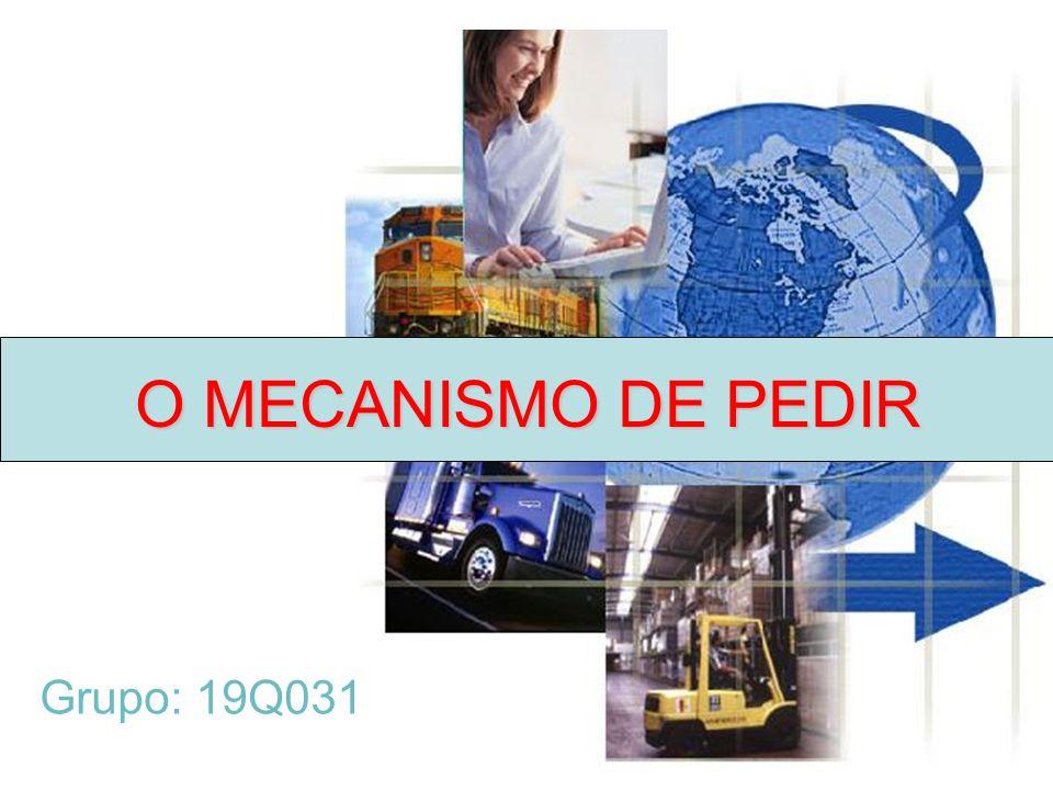 Grupo: 19Q031 O MECANISMO DE PEDIR