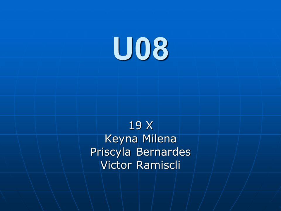 U08 19 X Keyna Milena Priscyla Bernardes Victor Ramiscli
