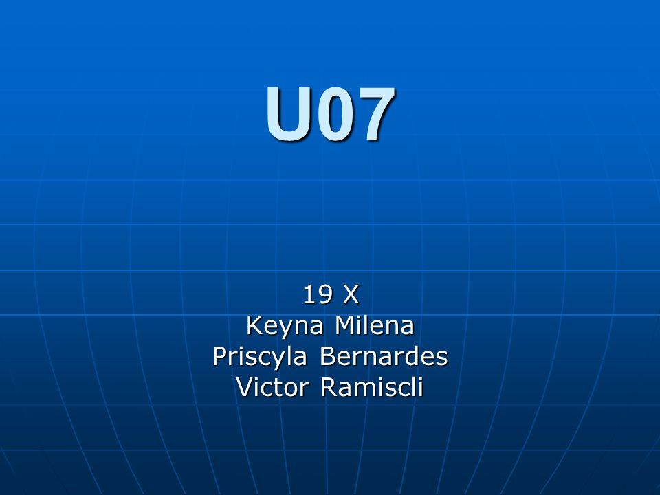 U07 19 X Keyna Milena Priscyla Bernardes Victor Ramiscli