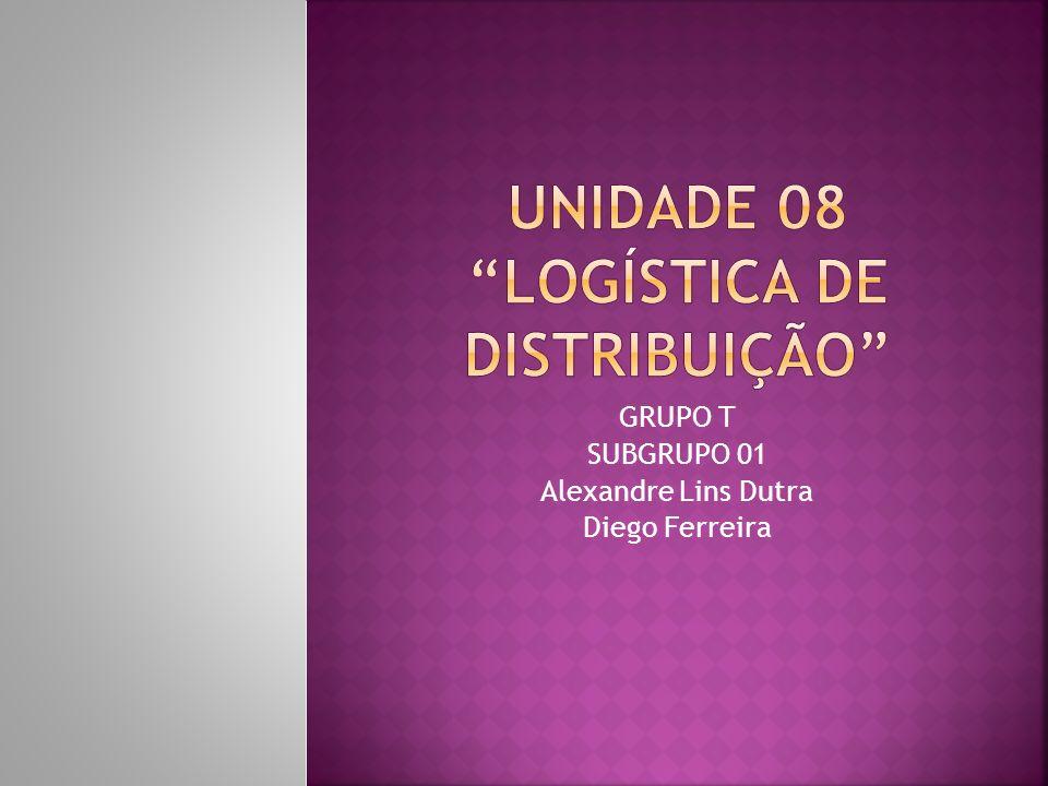 GRUPO T SUBGRUPO 01 Alexandre Lins Dutra Diego Ferreira
