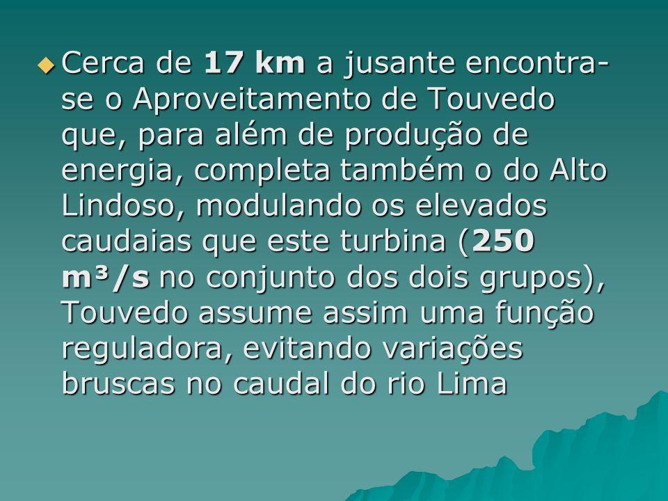 O aproveitamento do Alto Lindoso, é actualmente o mais potente centro produtor hidroeléctrico instalado em Portugal. Localiza-se no rio Lima, a escass