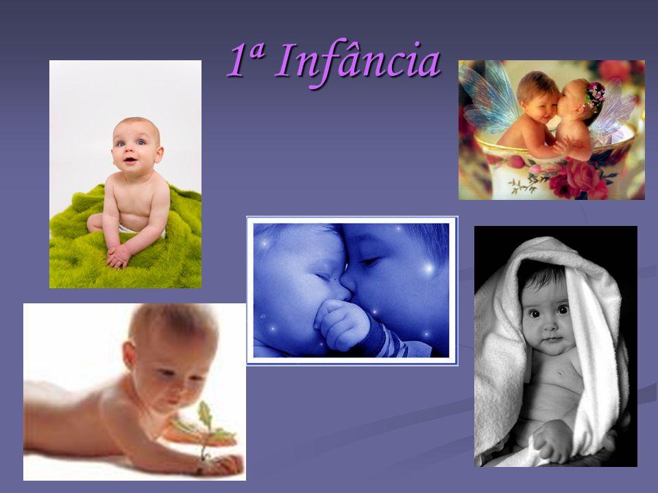 1ª Infância Aqui começa o início da vida… Onde aprendemos a caminhar, a cair, a falar, a sorrir, a chorar…
