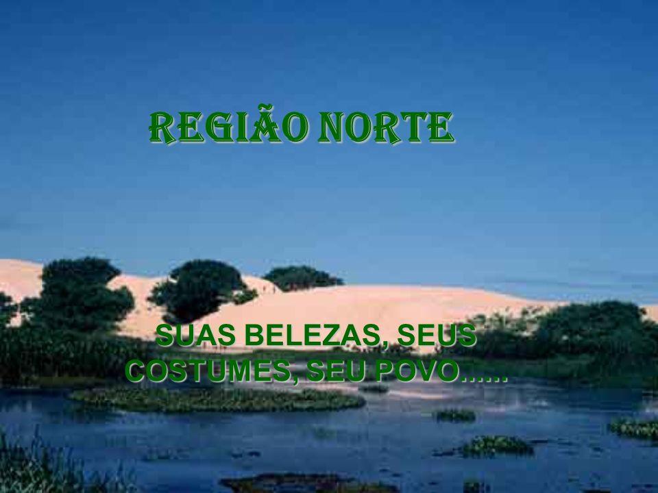 SUAS BELEZAS, SEUS COSTUMES, SEU POVO...... REGIÃO NORTE