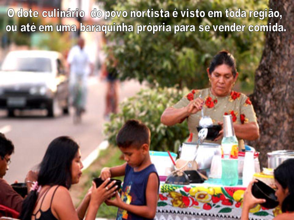 O Cupuaçu: fruta típica da região é usado em vários cardápios e é elemento importante da economia nortista.