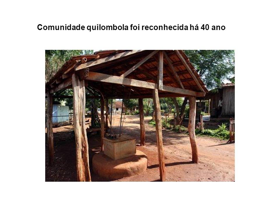 Comunidade quilombola foi reconhecida há 40 ano