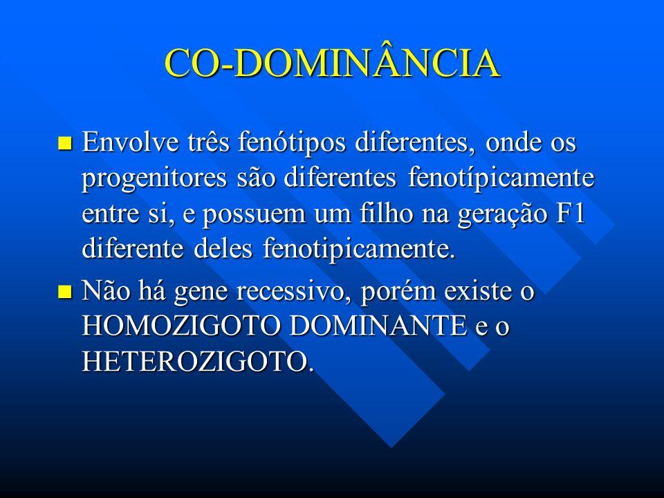 GENÉTICA CO-DOMINÂNCIAeLETALIDADE WWW.PROFMARCOSBIO.HPG.COM.BR