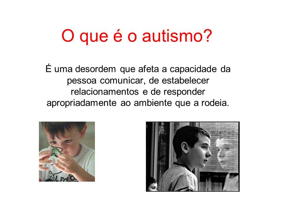 Histórico O termo autismo vem do grego autós que significa de si mesmo.