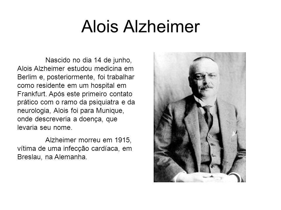 A Descoberta Leia um trecho da conversa de Alzheimer com Auguste D., sua paciente: AA: Como a senhora se chama.