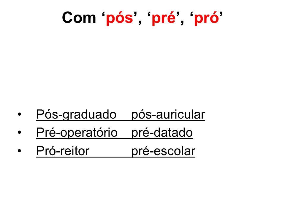 ACENTO diferencial de tonicidade Não se acentuam mais certos substantivos e formas verbais para distingui-los graficamente de outras palavras Vou para casa.