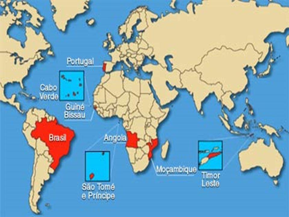 Português é a terceira língua ocidental mais falada no mundo, após apenas do Inglês e do EspanholPortuguês é a terceira língua ocidental mais falada no mundo, após apenas do Inglês e do Espanhol Excetuando o Brasil, todos os países seguem o português ( grafia) de PortugalExcetuando o Brasil, todos os países seguem o português ( grafia) de Portugal
