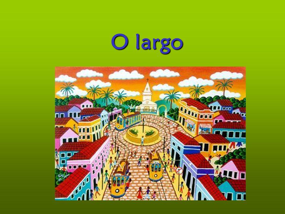 Largo Aspecto negativo O largo era o centro do mundo, o centro da vila, era de todos e era onde se sabia aquilo que a alguns interessava que soubessem.