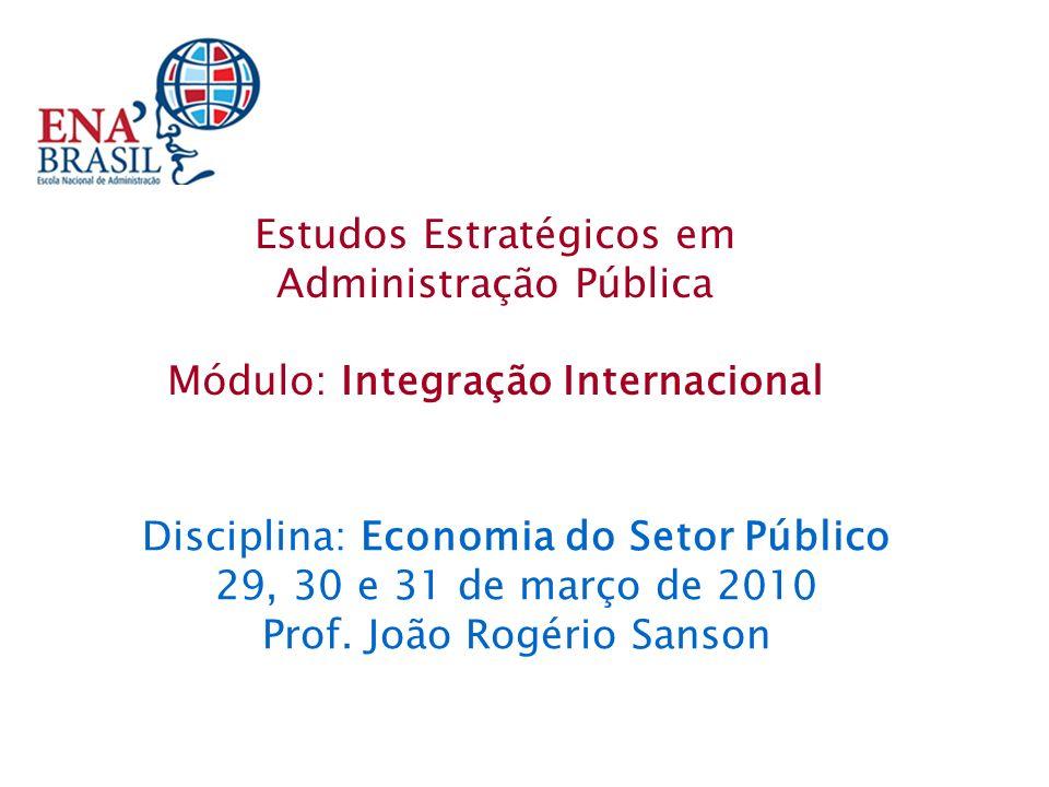 As funções do Estado na economia.A fronteira entre o setor público e o setor privado.