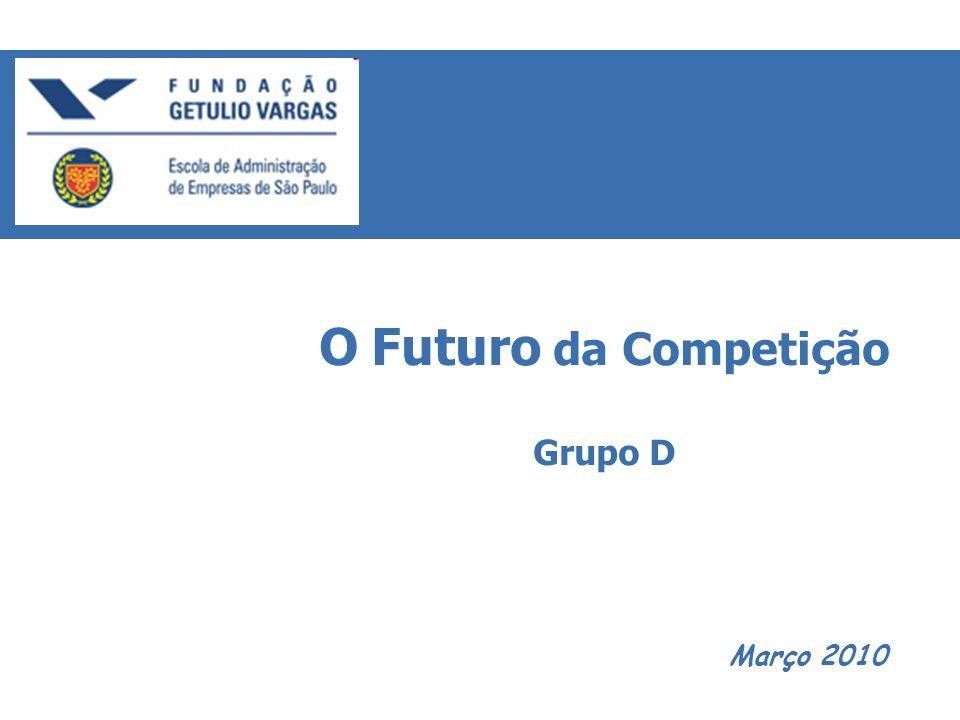 Março 2010 O Futuro da Competição Grupo D
