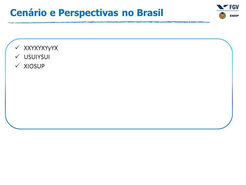 Cenário e Perspectivas no Brasil XXYXYXYyYX USUIYSUI XIOSUP