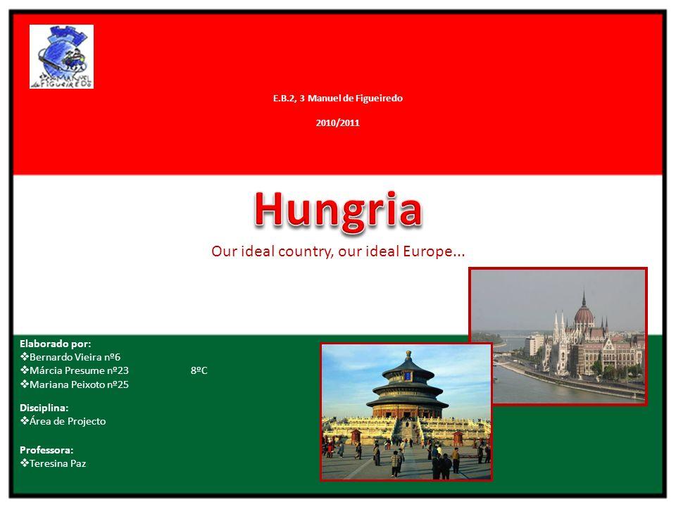 Localização Geográfica Hungria está localizada no Centro da Europa, no vale dos Kárpatos.
