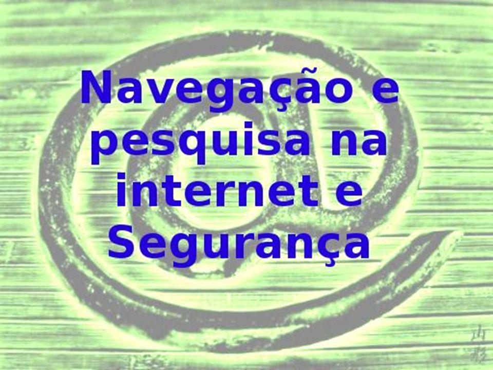 A Internet, também conhecida como web, é uma rede de comunicação de milhões de computadores conectados, que oferece inúmeros serviços.