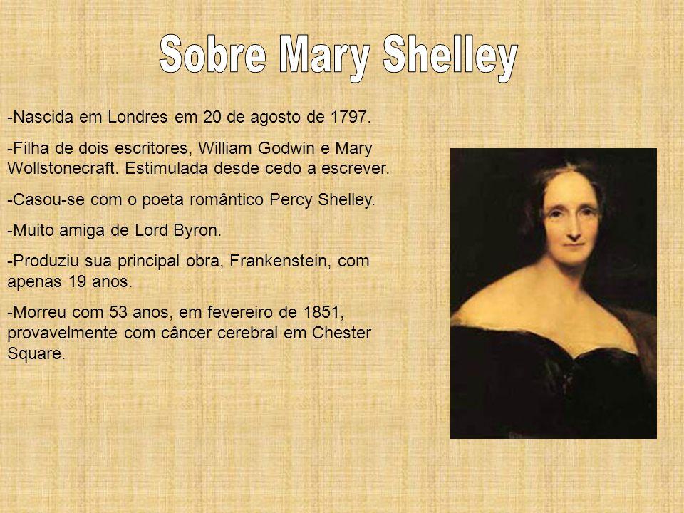 -Nascida em Londres em 20 de agosto de 1797. -Filha de dois escritores, William Godwin e Mary Wollstonecraft. Estimulada desde cedo a escrever. -Casou