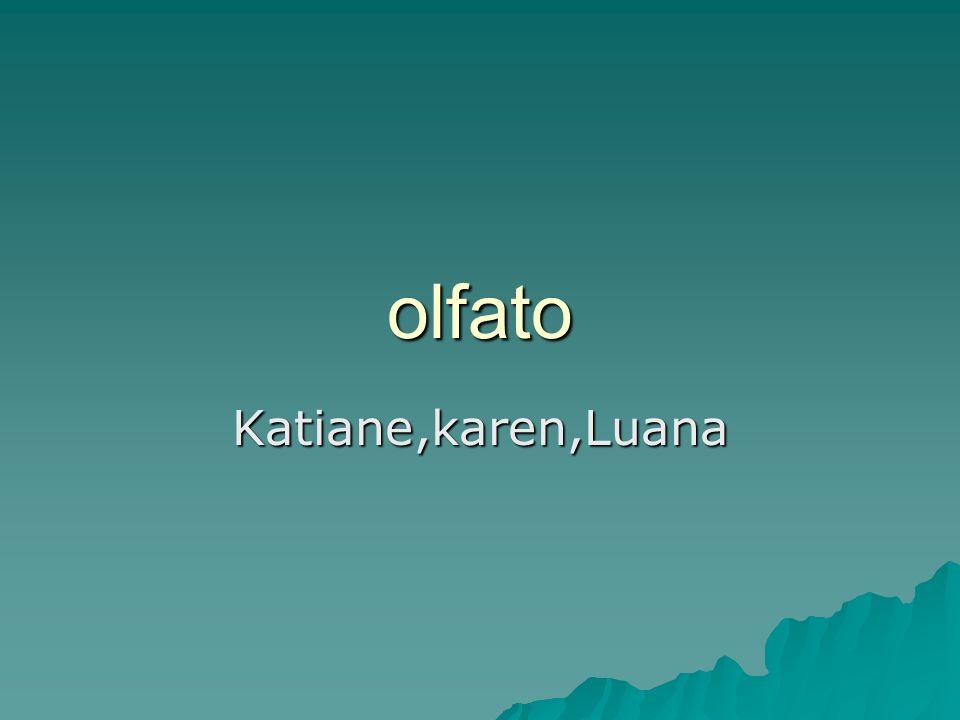 olfato Katiane,karen,Luana