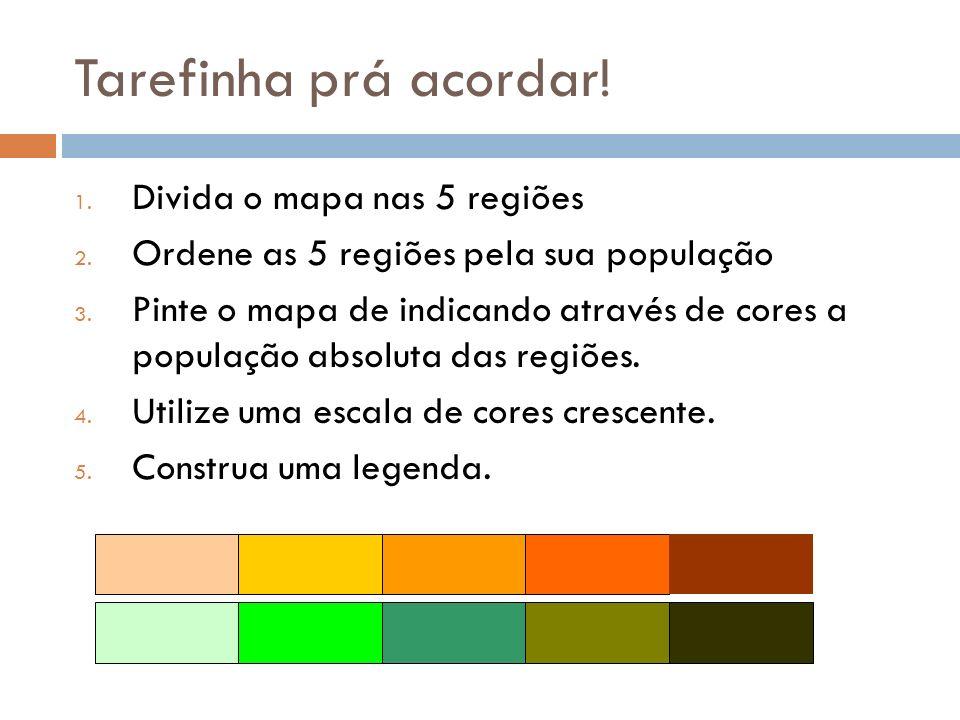 Brasil – 5 Regiões