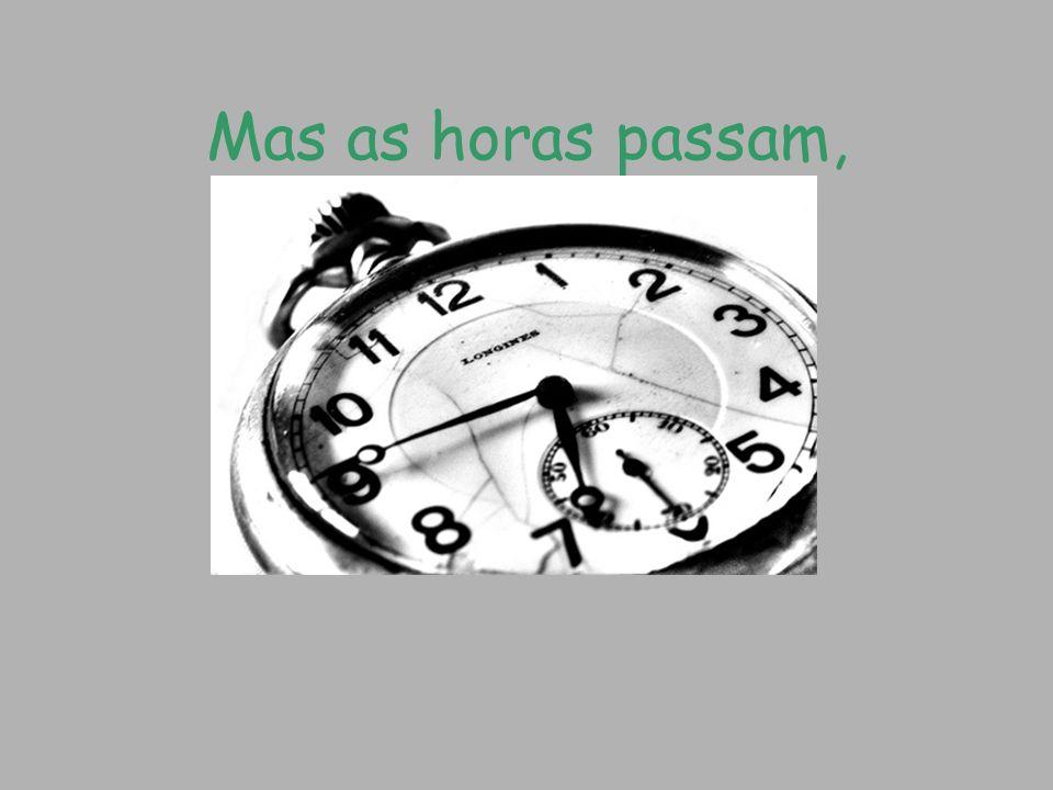 E o tempo começa a mudar…