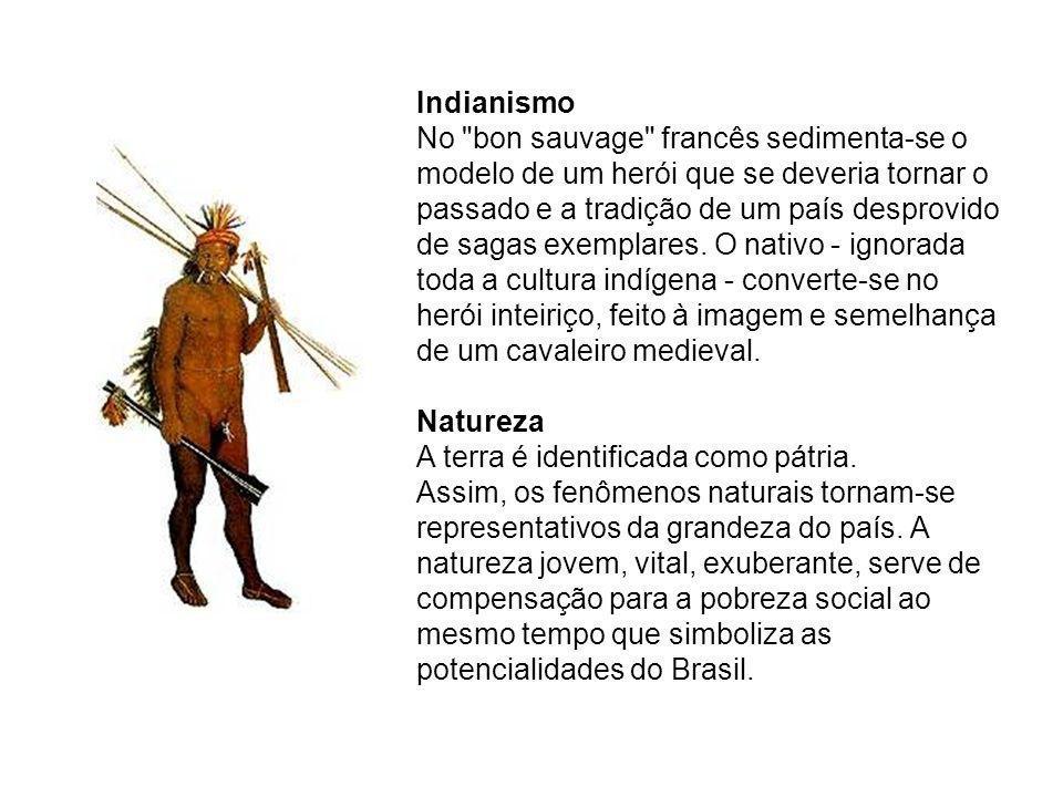 Procura da língua brasileira Os escritores românticos - José de Alencar, em especial - reivindicam uma língua brasileira.