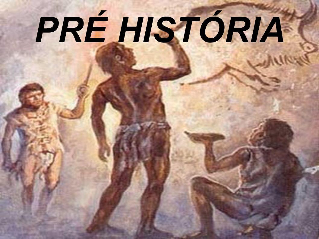 LINHA DO TEMPO Arte na Pré História Arte Rupestre