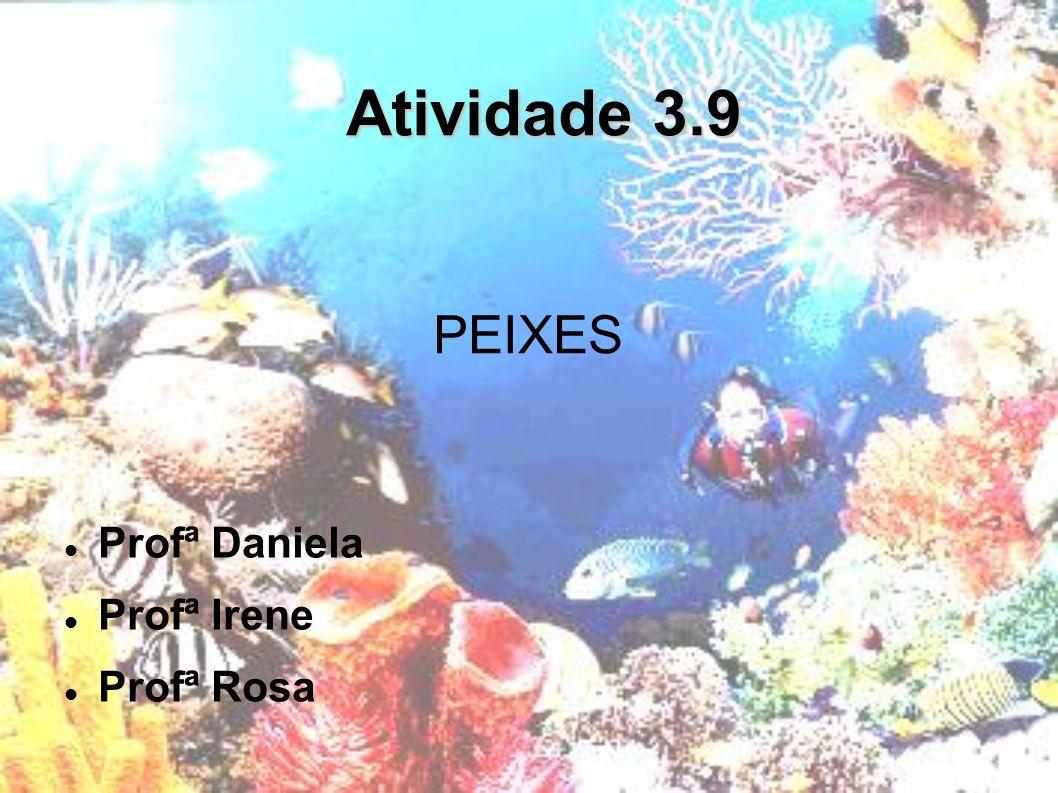 Atividade 3.9 Profª Daniela Profª Irene Profª Rosa PEIXES