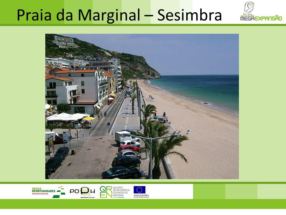 Praia da Marginal – Sesimbra