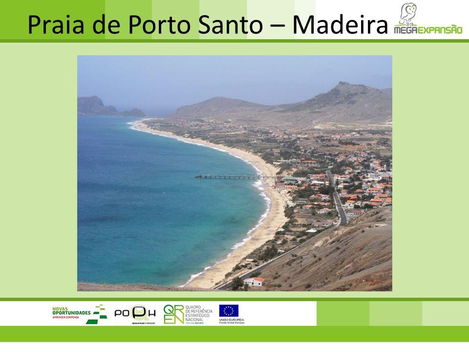 Praia de Porto Santo – Madeira