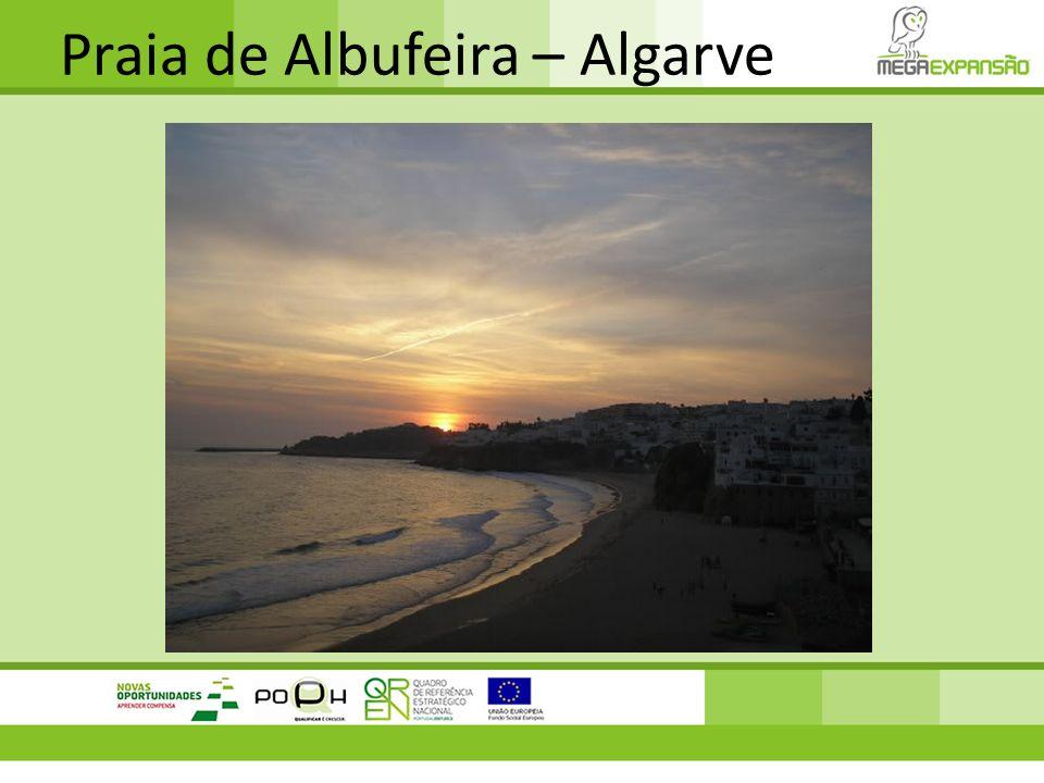Praia de Albufeira – Algarve