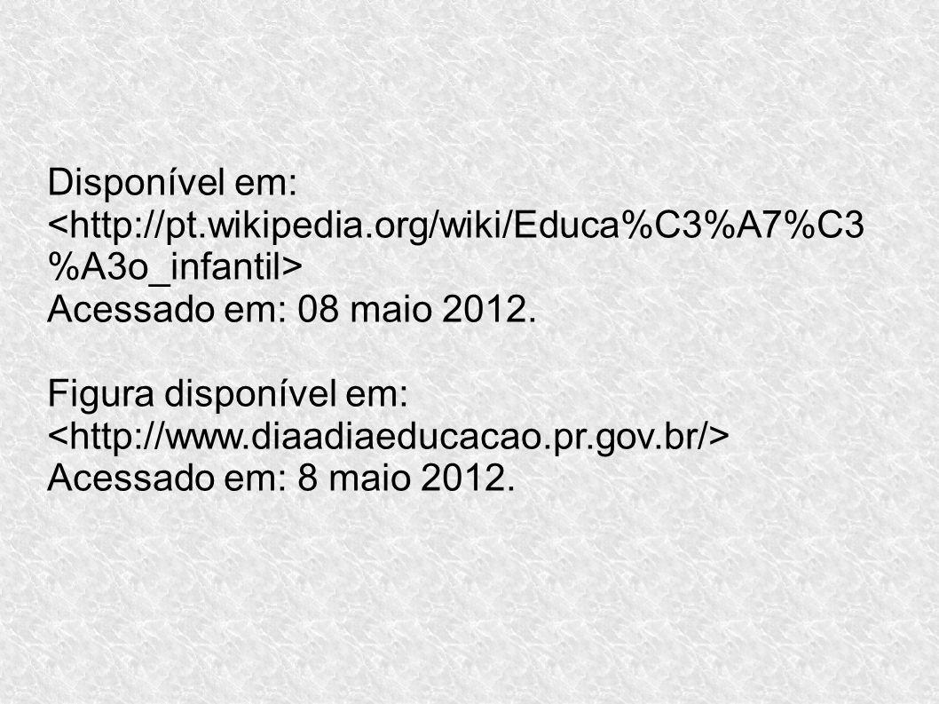 Disponível em: Acessado em: 08 maio 2012. Figura disponível em: Acessado em: 8 maio 2012.