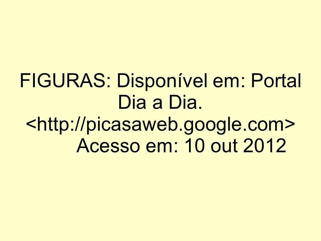 FIGURAS: Disponível em: Portal Dia a Dia. Acesso em: 10 out 2012