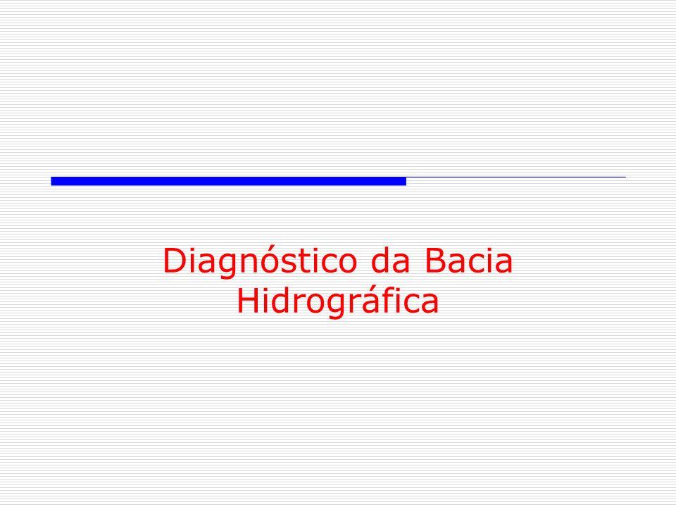 Diagnóstico da Bacia Hidrográfica
