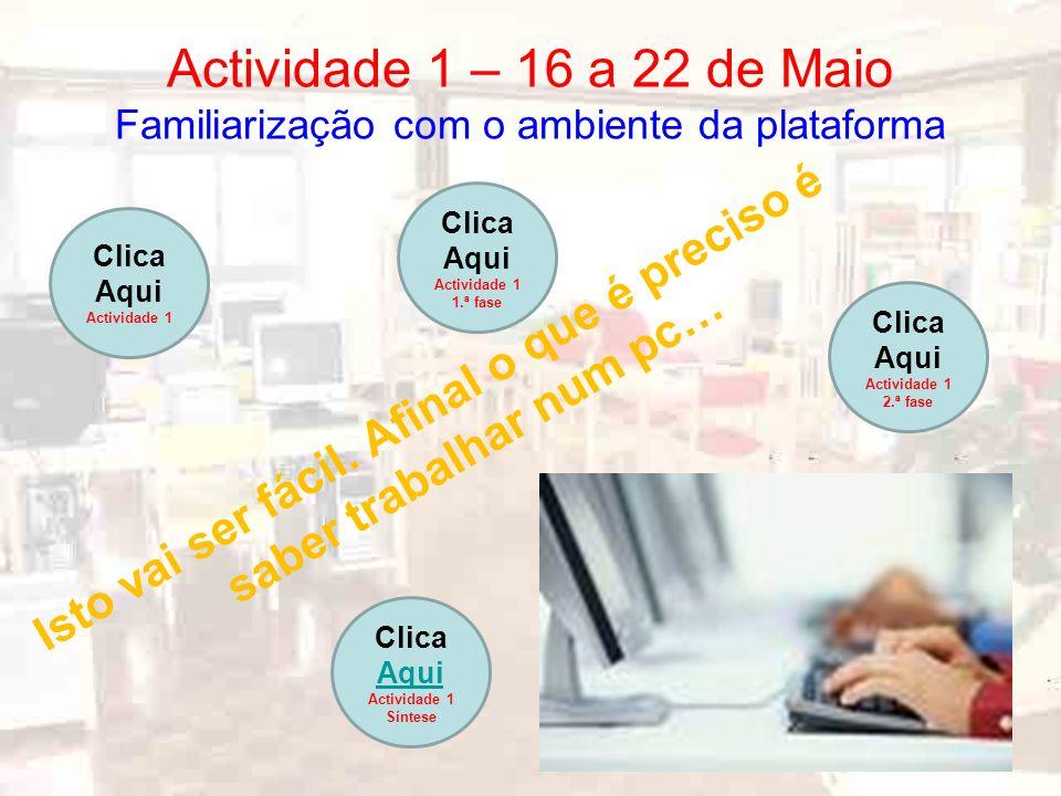 Actividade 2 – 23 a 28 de Maio A formação on-line – conceito e potencialidades A verdadeira formação on-line.