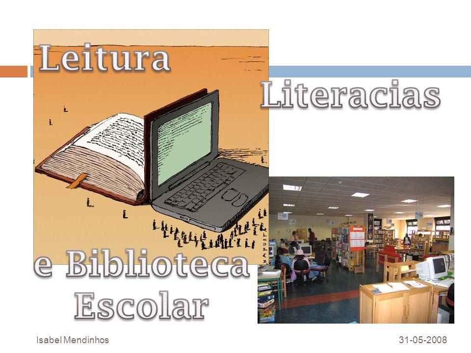 O papel da Biblioteca Escolar Colaborando com as estruturas de gestão pedagógica do agrupamento e com os professores, nos domínios que se seguem.