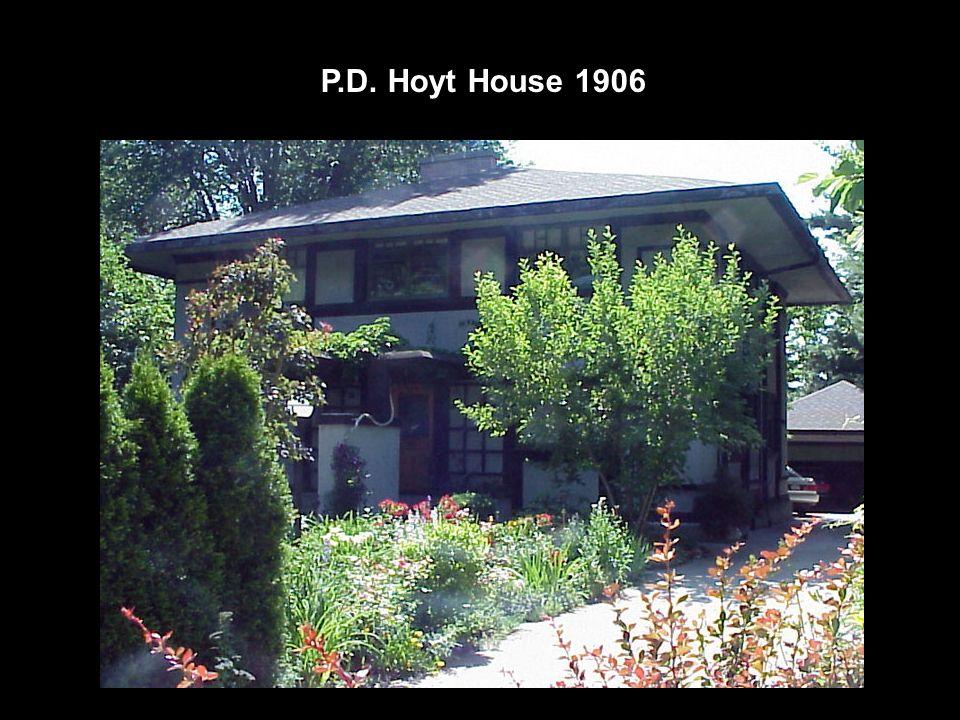 P.D. Hoyt House 1906