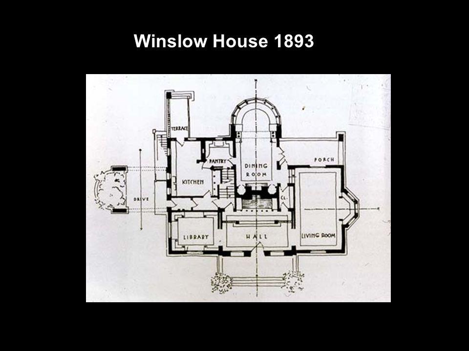 Arthur Heurtley House 1902 Se firmando ainda mais o estilo pradaria.