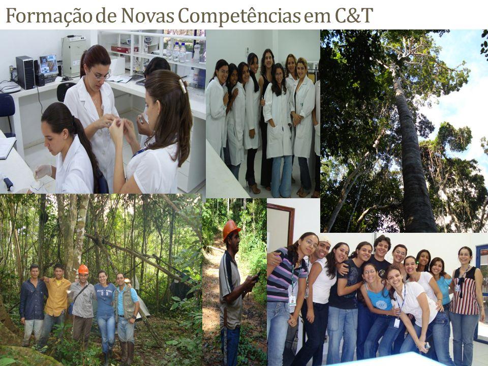 Formação de Novas Competências em C&T