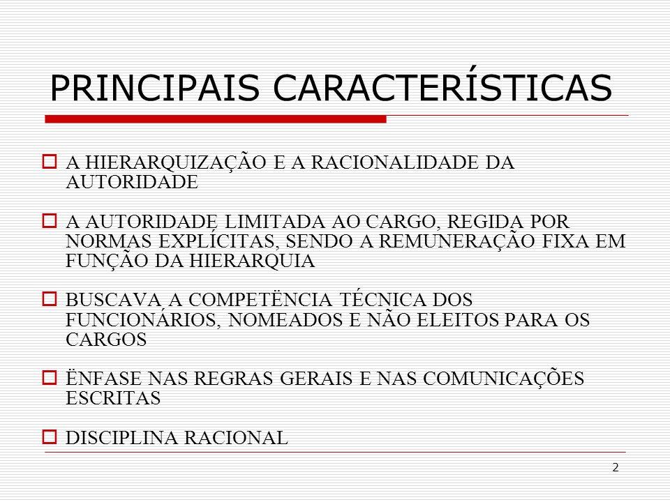 3 1.Caráter legal das normas e regulamentos.2.Caráter formal das comunicações.