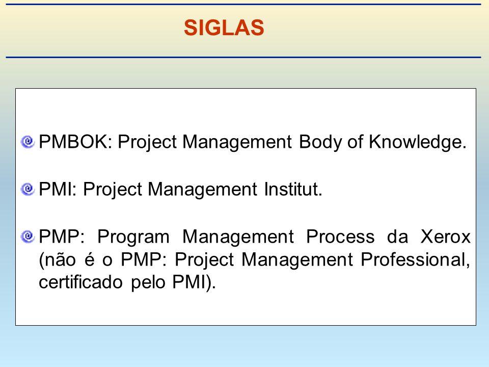 Um programa é um grupo de projetos gerenciados de uma forma coordenada, a fim de se obter benefícios que, de uma forma isolada, não se obteria.