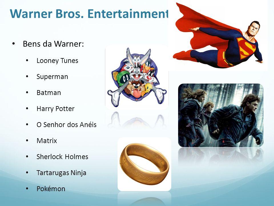 Warner Bros. Entertainment Bens da Warner: Looney Tunes Superman Batman Harry Potter O Senhor dos Anéis Matrix Sherlock Holmes Tartarugas Ninja Pokémo