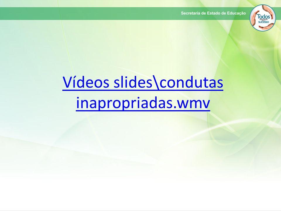 Vídeos slides\condutas inapropriadas.wmv