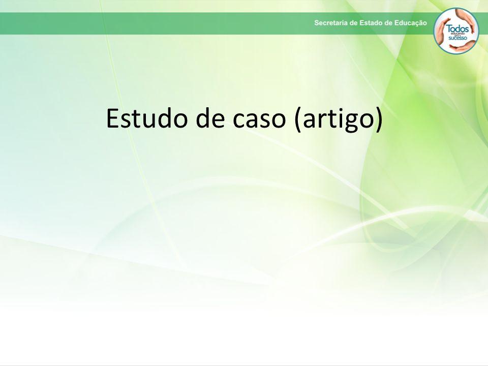 Estudo de caso (artigo)