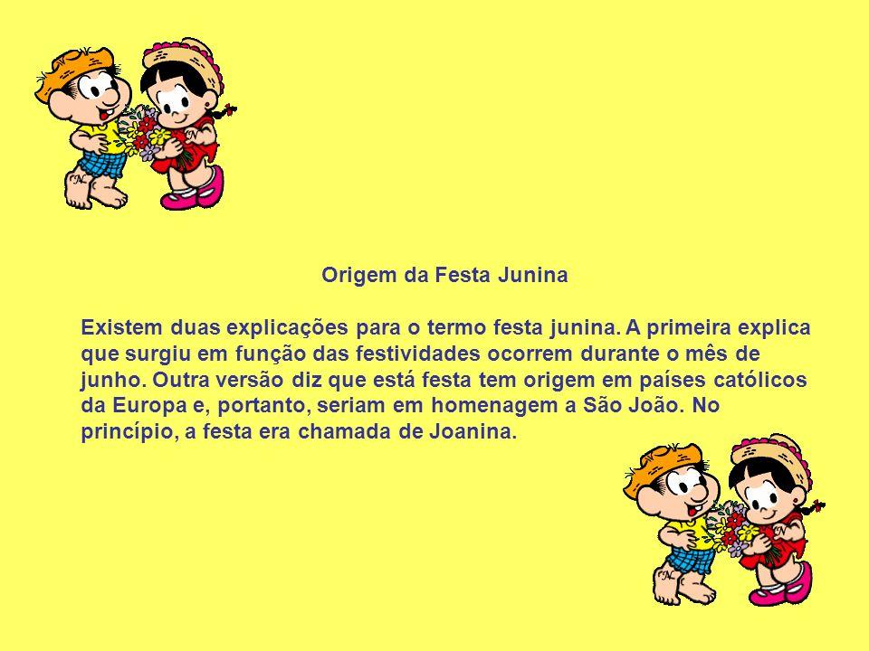 Escreva no quadrinho abaixo: Quais as atividades que tem na festa junina da sua escola.