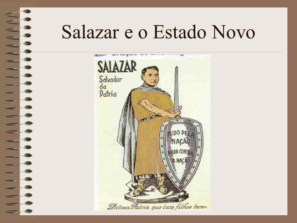 Para os outros e para nós, como resposta para tudo e caminho único, este grito supremo, que já não significa o nome de um homem mas a síntese duma ideia redentora, a abreviatura dum sistema: Salazar.